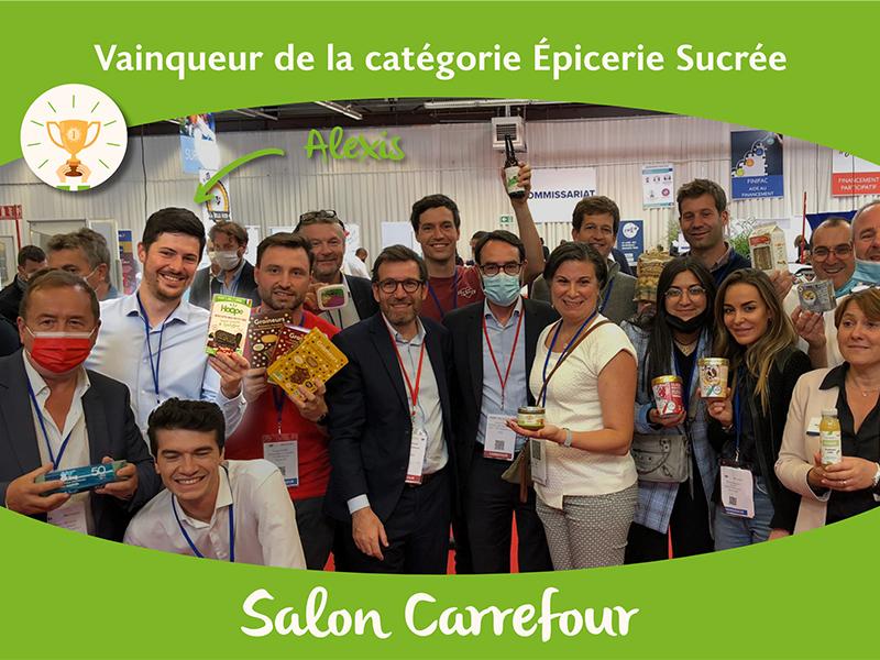 Vainqueur concours salon Auchan Carrefour